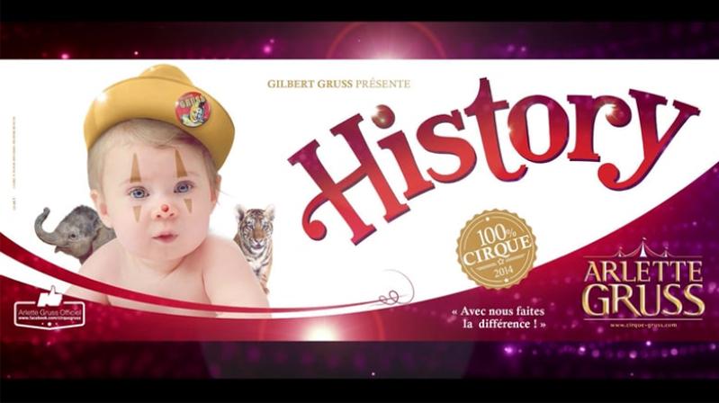 Arlette Gruss «HISTORY» 2014